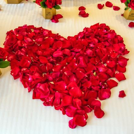 Лепестки роз для свадебного торжества в подарок!!!, Цветы для Вас, Тобольск