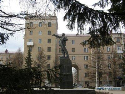 Памятник В.И. Ленина, Памятник, скульптура,  Октябрьский