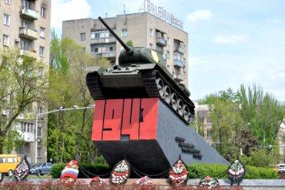 Танк Т-34 Гвардейская площадь (Ростов-на-Дону),Памятник, скульптура,Ростов-на-Дону