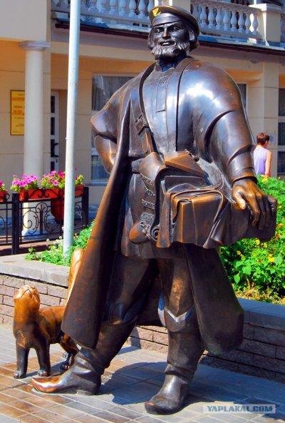 Коробейник. Скульптура,Памятник, скульптура,Ростов-на-Дону