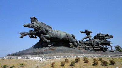 Тачанка-Ростовчанка,Памятник, скульптура,Ростов-на-Дону