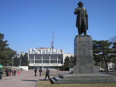 К. Маркс,Памятник, скульптура,Ростов-на-Дону
