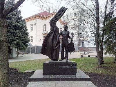 Памятник Владимиру Высоцкому,Памятник, скульптура,Ростов-на-Дону