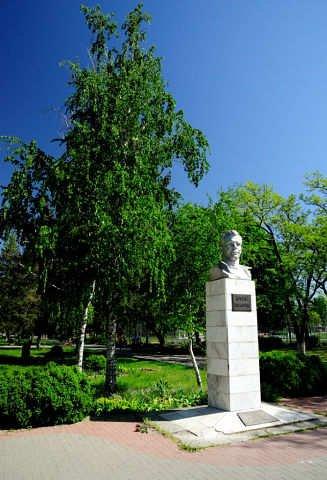 Ю. А. Гагарин,Памятник, скульптура,Азов