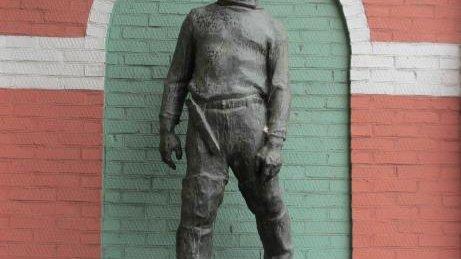 Памятник Рыбак-помор,Памятник, скульптура,Азов