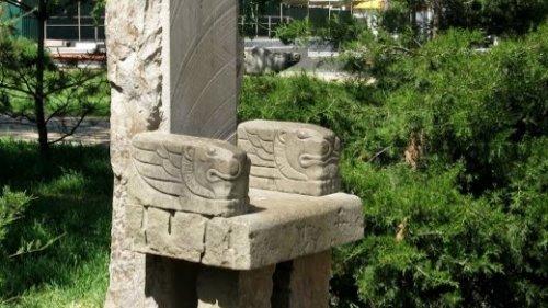 Скульптура Философский трон,Памятник, скульптура,Азов