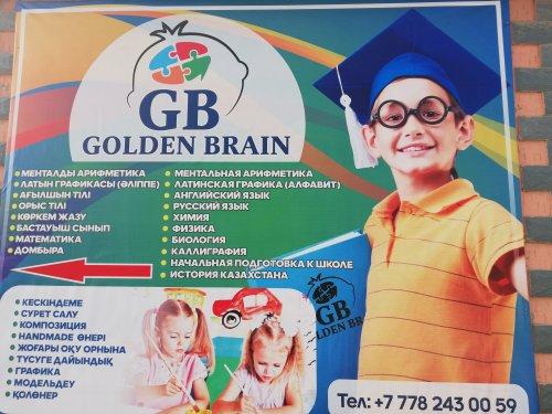 Golden Brain, детям, Сарыагаш