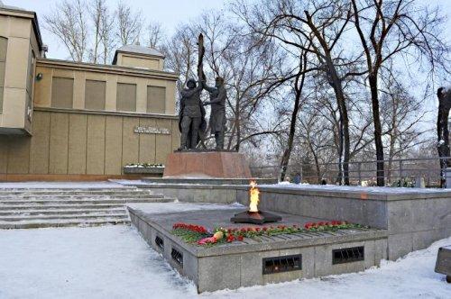 Памятник Вечный огонь в Красноярске,Достопримечательности Красноярска,Красноярск