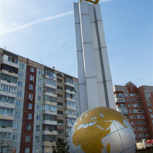 Памятник Молоков Василий Сергеевич Красноярск,Достопримечательности Красноярска,Красноярск