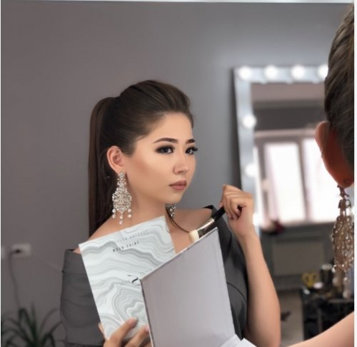 Саида, мастер по бровям, ресницам и макияжу, Салон красоты,  Актобе