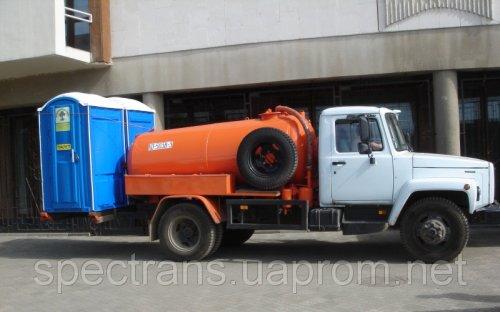 Откачка септиков,Откачка септиков, канализации,туалетов,Красноярск