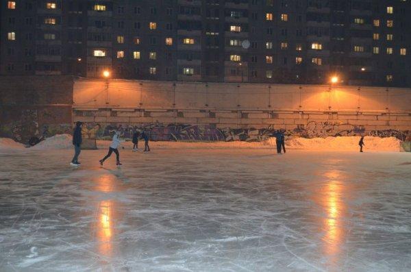 Ледовая площадка «Ветлужанка»,Каток,Красноярск