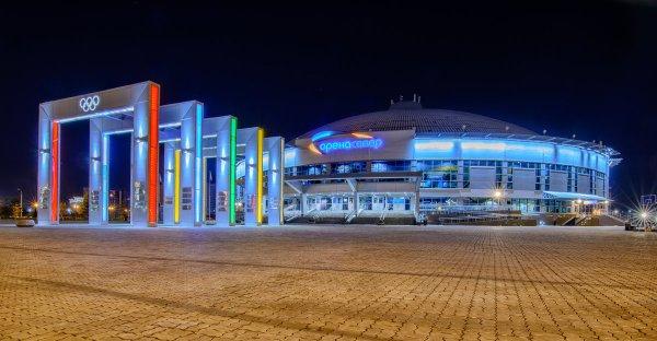Ледовый дворец Арена-Север,Спорткомплекс, Каток, Стадион,Красноярск