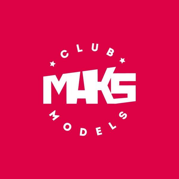 логотип компании Maks Models Лица будущего