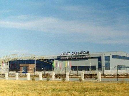 Спортивно-оздоровительный комплекс имени Бекзата Саттарханова, Спортивный комплекс, Туркестан, Кентау