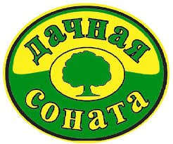 логотип компании Дачная соната, садовый центр