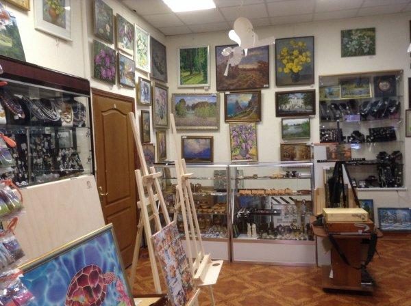 Лавка художника,салон-мастерская багета и товаров для творчества,Курган