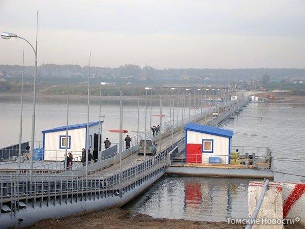 Понтонный мост,Понтонный мост / переправа,Юрга