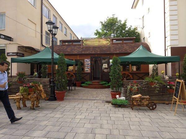 Кавказский дворик,кафе,Нальчик
