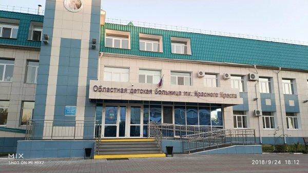 Курганская областная детская клиническая больница им. Красного Креста,,Курган