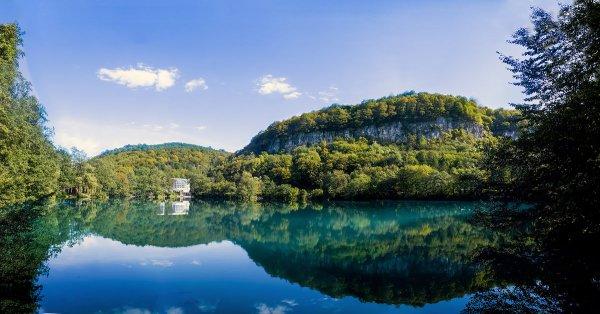 Голубое озеро Церик-Кёль, нижнее,Озера,Нальчик