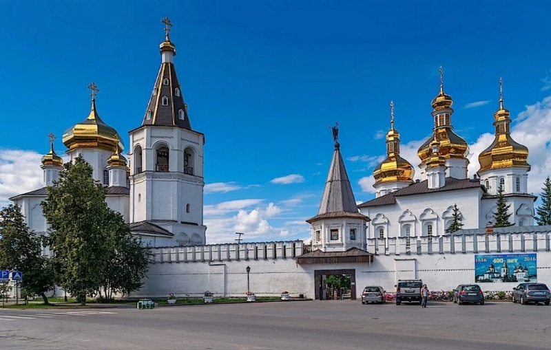 Свято-Троицкий мужской монастырь,Православный храм, Монастырь,Тюмень