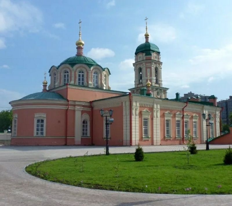 Церковь Илии Пророка в Богородице-Рождественском Ильинском Тюменском монастыре,Православный храм,Тюмень