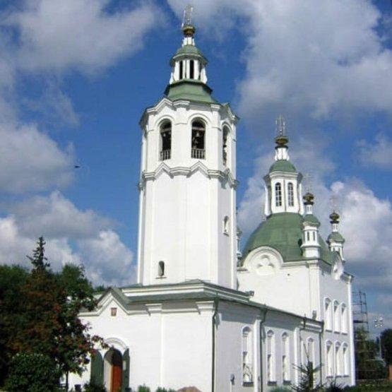 Церковь Воздвижения Честного Креста Господня,Православный храм,Тюмень