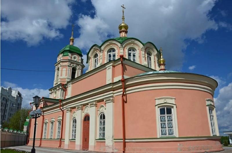 Богородице-Рождественский Ильинский Тюменский женский монастырь,Православный храм, монастырь,Тюмень