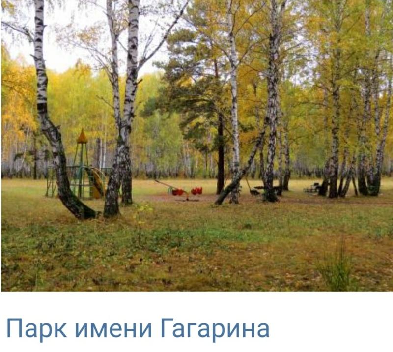 Парк имени Гагарина,Сквер, Парк культуры и отдыха,Тюмень