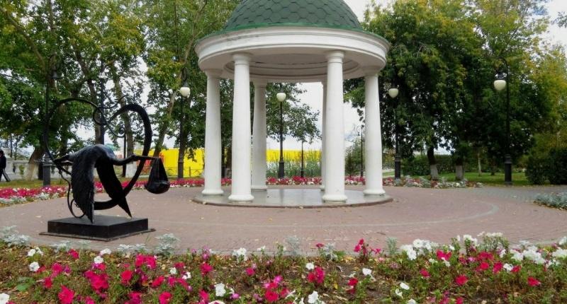 Загородный сад,Парк культуры и отдыха,Тюмень