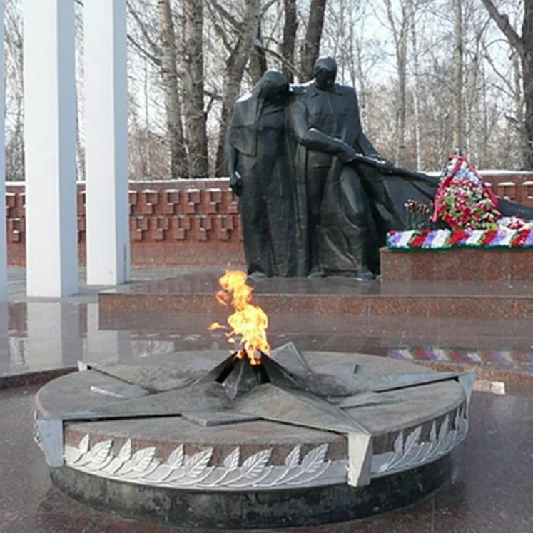 Вечный огонь,Памятник, скульптура,Тюмень