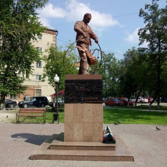 Памятник ликвидаторам радиационных аварий и катастроф,Памятник, скульптура,Тюмень