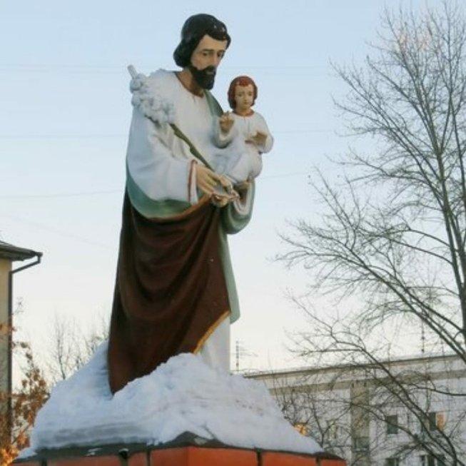 Иисус Христов и св.Иосиф,Памятник, скульптура,Тюмень