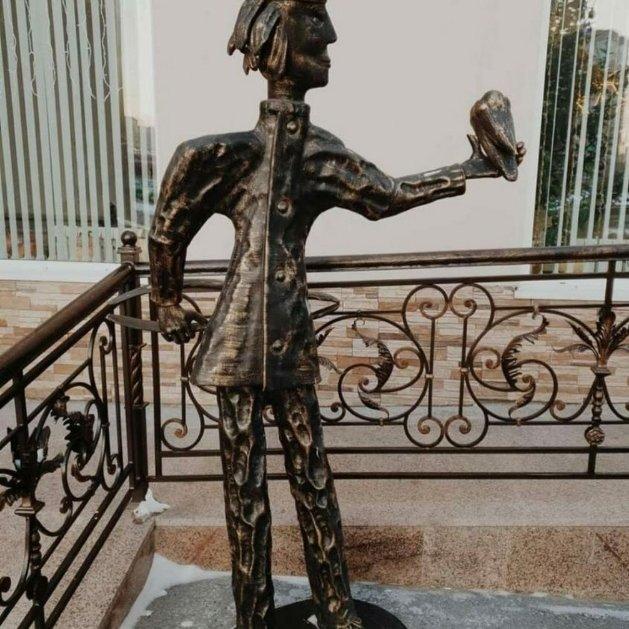 Памятник детскому врачу-стоматологу,Памятник, скульптура,Тюмень