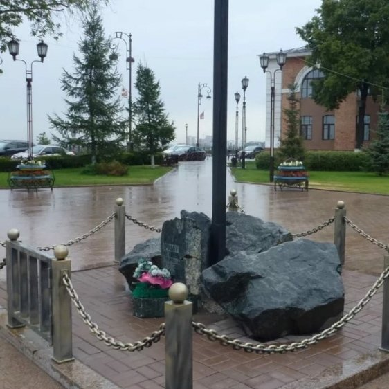 Памятный знак Ермаку,Памятник, скульптура,Тюмень