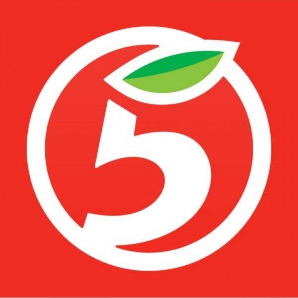 логотип компании Пятерочка