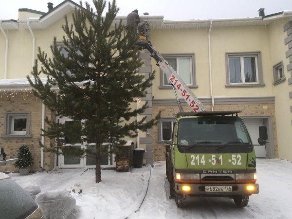 Услуги Автовышка 12-29м,Аренда спецтехники,Красноярск