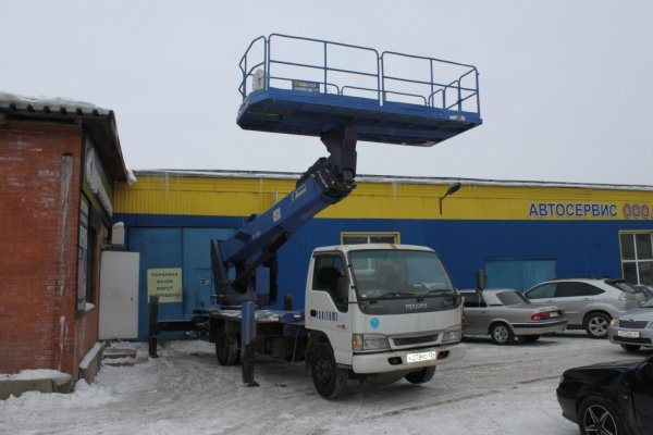 Услуги Автовышки от 12м до 22м,Аренда спецтехники,Красноярск