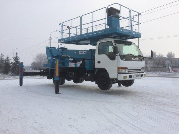 Аренда автовышек 15-22м,Аренда спецтехники,Красноярск
