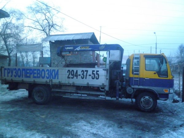 Манипалятор,Услуги манипулятора,Красноярск
