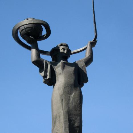Стела Наука-космос,Памятник,Байконур