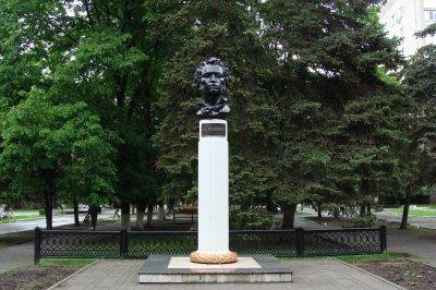 А. С. Пушкин,Памятник, скульптура,Азов
