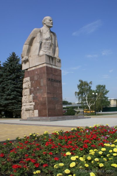 В. И. Ленин,Памятник, скульптура,Азов