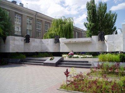Мемориал сотрудникам правопорядка, павшим при исполнении,Памятник, скульптура,Ростов-на-Дону