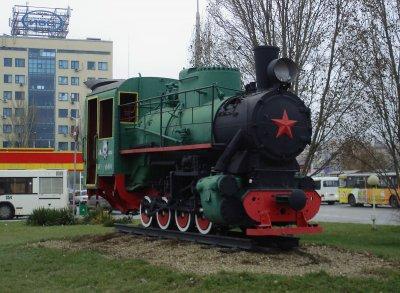 Паровоз,Памятник, скульптура,Ростов-на-Дону