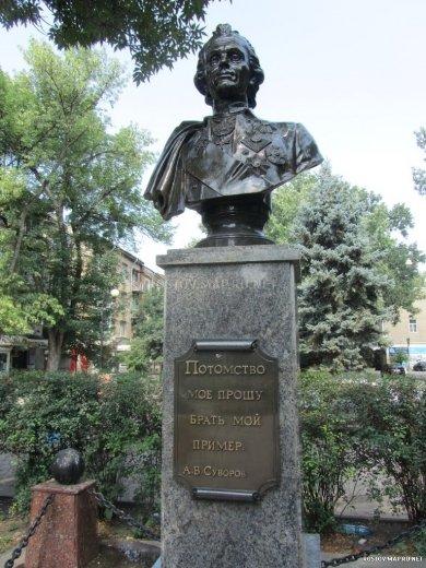 А. В. Суворов,Памятник, скульптура,Ростов-на-Дону