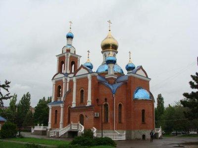 Полковой Храм Азовской иконы Божией Матери,Православный храм,Азов