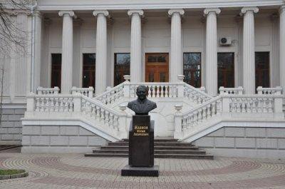 Ю. А. Жданов,Памятник, скульптура,Ростов-на-Дону