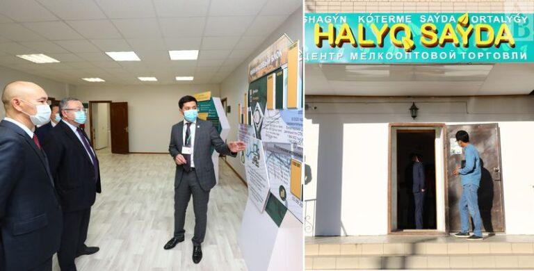 19 магазинов мини-оптового центра «HALYQ SAÝDA» начали свою работу